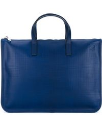 Loewe - Leather Briefcase - Lyst