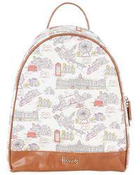 Harrods London Skyline Backpack - Lyst
