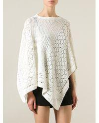 Emilio Pucci - Cutaway Knit Crop Top - Lyst