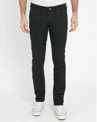 Wrangler   Black Larston Slim-fit Jeans   Lyst