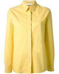 Cedric Charlier Collared Shirt - Lyst