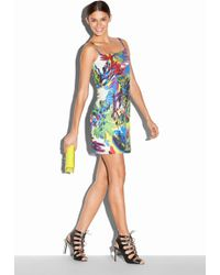 Milly Floral Print Slipdress multicolor - Lyst