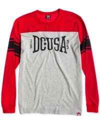 Dc Shoes Wild Card Long-Sleeve T-Shirt - Lyst
