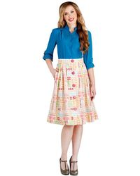 ModCloth Fun and Games Skirt - Lyst