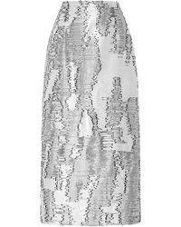 Bibhu Mohapatra | Desert Jacquard Skirt | Lyst