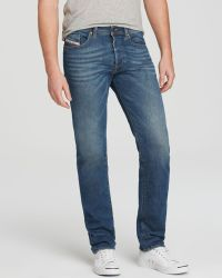 Diesel Jeans - Buster New Tapered Fit In 837I - Lyst