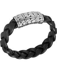 John Hardy Mens Extra-large Classic Chain Braided Bracelet - Lyst