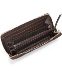 Gucci | Bree Gg Leather Zip Continental Wallet | Lyst