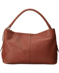 Cole Haan Lockhart Double Strap Hobo brown - Lyst