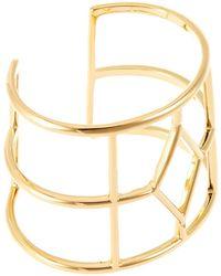 Trina Turk Open Cut Cuff Bracelet - Lyst