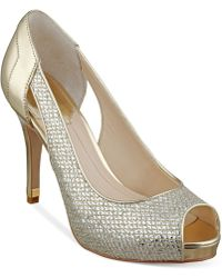 Marc Fisher Bross Platform Pumps - Lyst