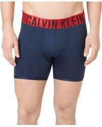 Calvin Klein Mens Microfiber Boxer Briefs - Lyst