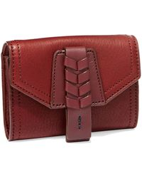Cole Haan Small Leather Wallet - Lyst