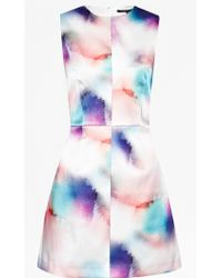 French Connection Soft Spray A-Line Dress - Lyst