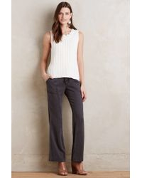 On The Road - Parker Eyelet Trousers - Lyst