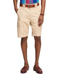"""Brooks Brothers 10"""" Cargo Shorts khaki - Lyst"""