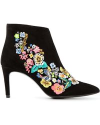 Preen Norton Embroidered Boots - Lyst