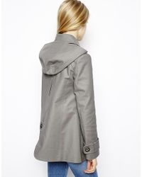 ASOS - Textured Swing Duffle Coat - Lyst