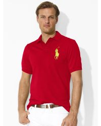 ... Ralph Lauren Men Big Pony Short Sleeved Polo Red ...