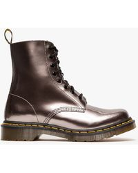 Dr. Martens Pascal 8eye Boot in Pewter - Lyst