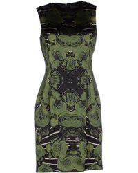 John Richmond Short Dress - Lyst