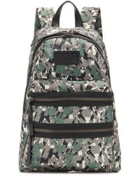 Marc By Marc Jacobs Packrat Printed Backpack - Green