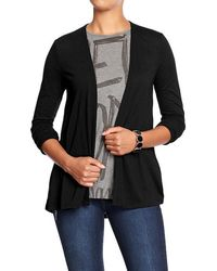 Old Navy Lightweight Openfront Cardis - Lyst
