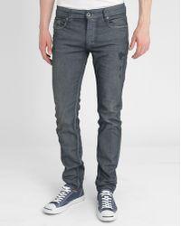 Diesel Blue Sleenker Vintage Destroy Skinny Jeans blue - Lyst