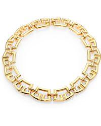 St. John Tubular Chain Link Necklace - Lyst