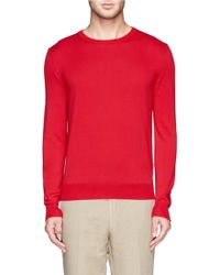 Canali Cotton Sweater - Lyst