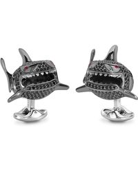 Deakin & Francis Small Shark Cuff Links - Lyst