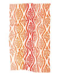 Natori Bittersweet Ombre Beach Towel orange - Lyst