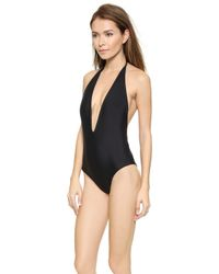 Mikoh Swimwear Hinano One Piece Swimsuit - Night - Lyst
