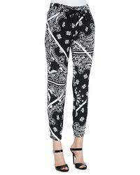 Tibi Bandana-print Jogging Pants - Lyst