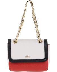 Blue Les Copains Handbag - Red