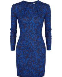 Matthew Williamson Printed Stretch-jersey Mini Dress - Lyst