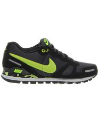 Nike Air Waffle Trainer Anthracite/Volt yellow - Lyst