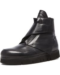 Alexandre Plokhov Crosta High Top Leather Sneakers - Lyst