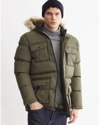 The Idle Man | Arctic Parka Green | Lyst