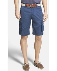 Robert Graham Men'S 'Globe Trotter' Cargo Shorts - Lyst