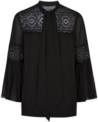 Alice By Temperley Fleur Lace Blouse - Lyst