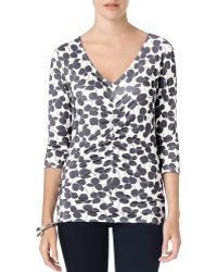 Phase Eight - Adita Ruched Top - Lyst