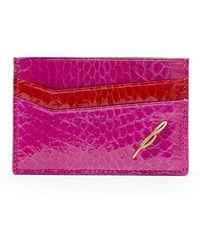 B Brian Atwood - Sophia Credit Card Case - Lyst