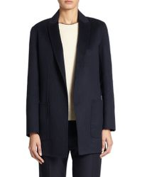 The Row Guire Wool Suiting Jacket - Lyst