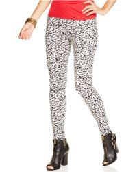 Jessica Simpson Animal Legging - Lyst