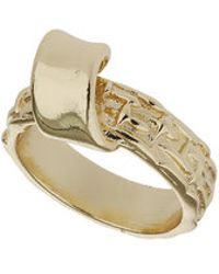 Topshop Freedom Found Twisted Ring - Lyst