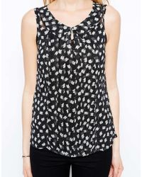 Traffic People Collared Top - Lyst