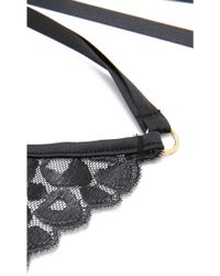 L'Agent by Agent Provocateur - Odessa Eye Mask - Black - Lyst