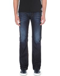 Diesel Zatiny Regular-fit Bootcut Jeans Blue - Lyst