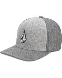 Volcom | Full Stone Embroidered Logo Hat | Lyst